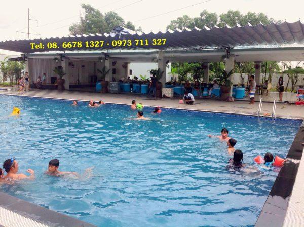 Mái che di động hồ bơi M0006