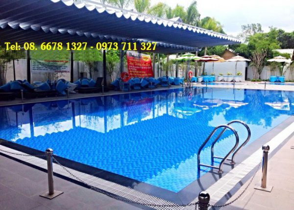 Mái hiên di động hồ bơi M0008